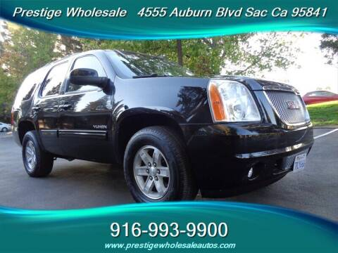 2012 GMC Yukon for sale at Prestige Wholesale in Sacramento CA