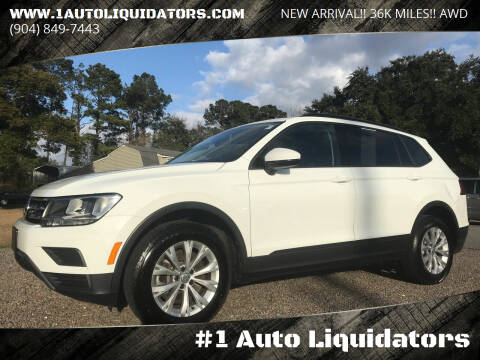 2018 Volkswagen Tiguan for sale at #1 Auto Liquidators in Yulee FL