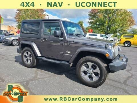 2016 Jeep Wrangler for sale at R & B Car Co in Warsaw IN