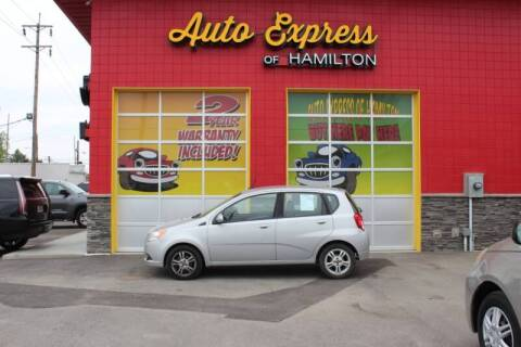 2010 Chevrolet Aveo for sale at AUTO EXPRESS OF HAMILTON LLC in Hamilton OH