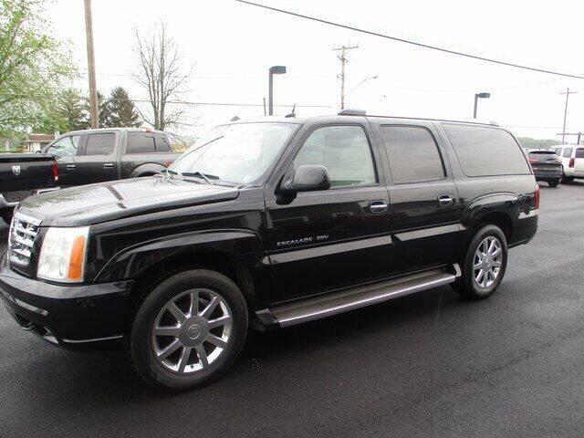 2005 Cadillac Escalade ESV for sale at FINAL DRIVE AUTO SALES INC in Shippensburg PA