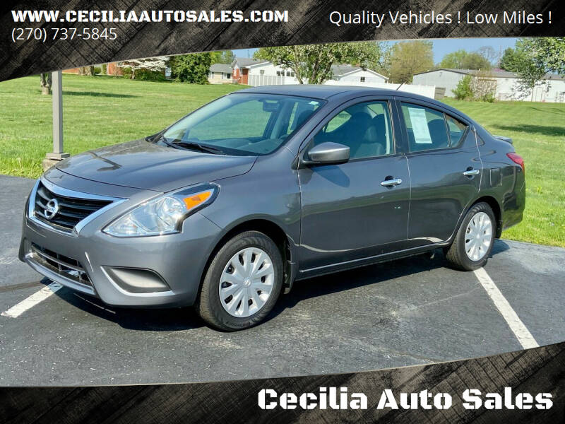 2019 Nissan Versa for sale at Cecilia Auto Sales in Elizabethtown KY