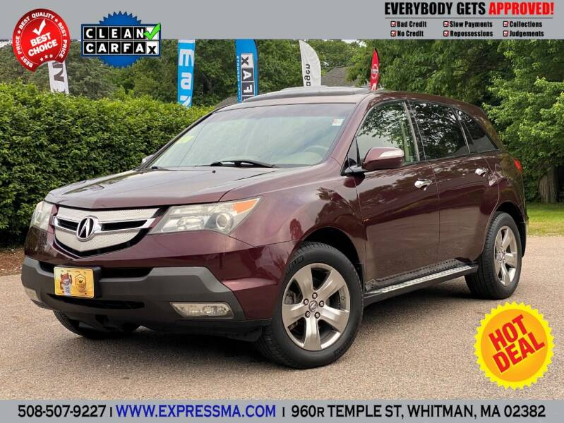 2009 Acura MDX for sale at Auto Sales Express in Whitman MA