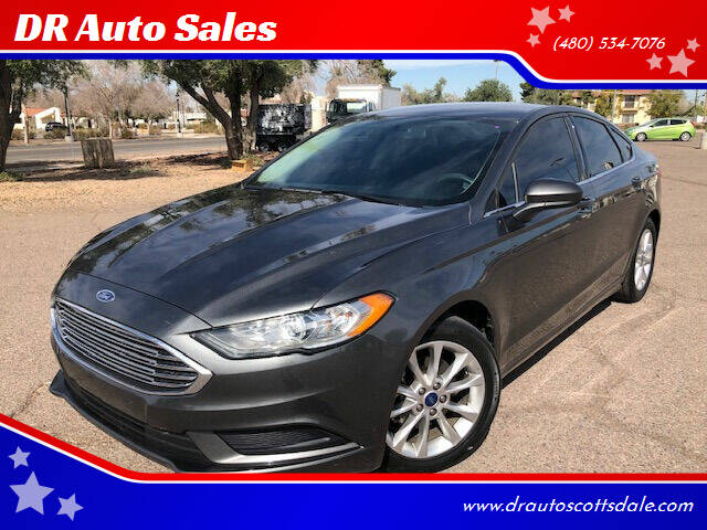 2017 Ford Fusion for sale at DR Auto Sales in Scottsdale AZ