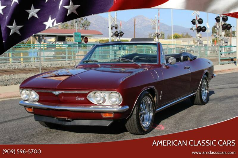 1966 Chevrolet Corvair for sale at American Classic Cars in La Verne CA