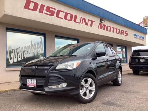 2014 Ford Escape for sale at Discount Motors in Pueblo CO