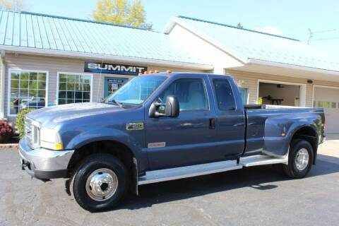 2004 Ford F-350 Super Duty for sale at Summit Motorcars in Wooster OH