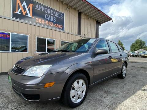 2007 Ford Focus for sale at M & A Affordable Cars in Vancouver WA