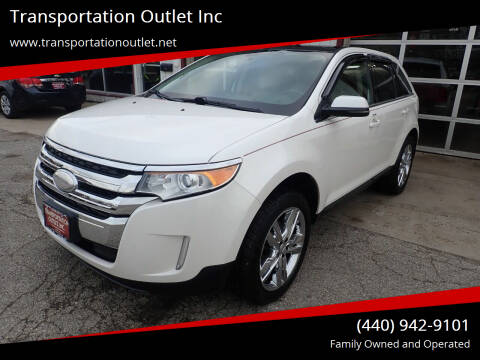 2012 Ford Edge for sale at Transportation Outlet Inc in Eastlake OH