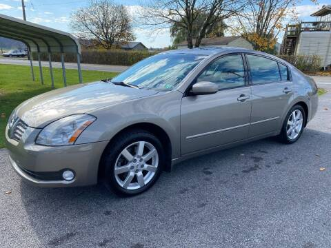 2004 Nissan Maxima for sale at Finish Line Auto Sales in Thomasville PA