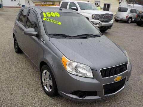 2010 Chevrolet Aveo for sale at SEBASTIAN AUTO SALES INC. in Terre Haute IN