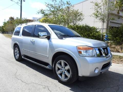 2012 Nissan Armada for sale at SUPER DEAL MOTORS in Hollywood FL