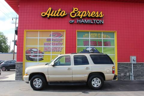 2005 Chevrolet Tahoe for sale at AUTO EXPRESS OF HAMILTON LLC in Hamilton OH