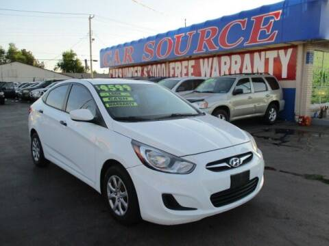 2012 Hyundai Accent for sale at Car One - CAR SOURCE OKC in Oklahoma City OK