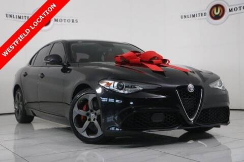 2017 Alfa Romeo Giulia for sale at INDY'S UNLIMITED MOTORS - UNLIMITED MOTORS in Westfield IN