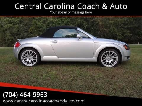 2002 Audi TT for sale at Central Carolina Coach & Auto in Lenoir NC