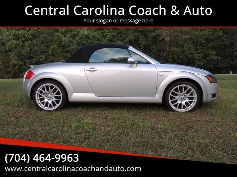 2002 Audi TT for sale at Central Carolina Coach & Auto in Lenoir NC