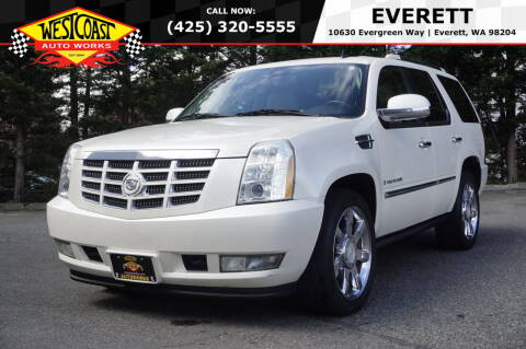 2009 Cadillac Escalade for sale at West Coast Auto Works in Edmonds WA