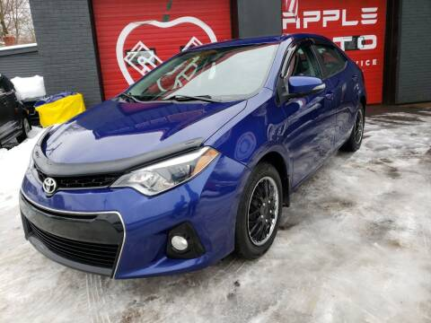 2015 Toyota Corolla for sale at Apple Auto Sales Inc in Camillus NY
