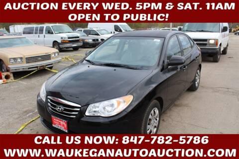 2010 Hyundai Elantra for sale at Waukegan Auto Auction in Waukegan IL