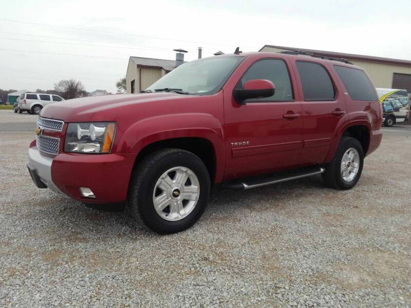 2013 Chevrolet Tahoe for sale at KESLER AUTO SALES in St. Libory IL
