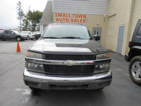 2006 Chevrolet Colorado for sale at Small Town Auto Sales in Hazleton PA