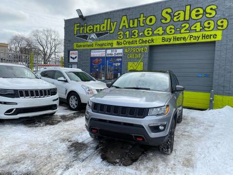2020 Jeep Compass for sale at Friendly Auto Sales in Detroit MI