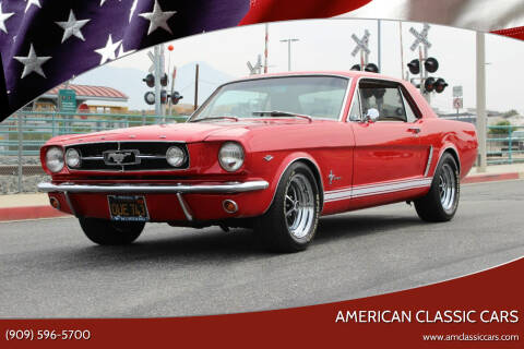 1965 Ford Mustang for sale at American Classic Cars in La Verne CA