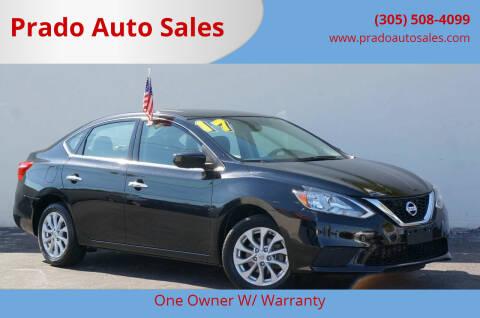 2017 Nissan Sentra for sale at Prado Auto Sales in Miami FL