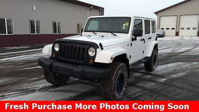 2013 Jeep Wrangler Unlimited for sale at Nyhus Family Sales in Perham MN