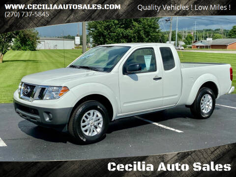 2018 Nissan Frontier for sale at Cecilia Auto Sales in Elizabethtown KY