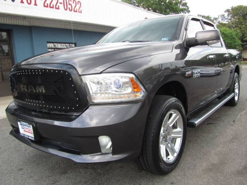 2015 RAM Ram Pickup 1500 for sale at Trimax Auto Group in Baltimore MD