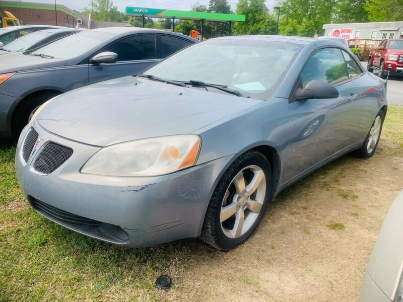 2007 Pontiac G6 for sale at BRYANT AUTO SALES in Bryant AR