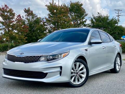 2016 Kia Optima for sale at Sebar Inc. in Greensboro NC