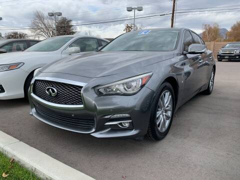 2014 Infiniti Q50 for sale at Berge Auto in Orem UT