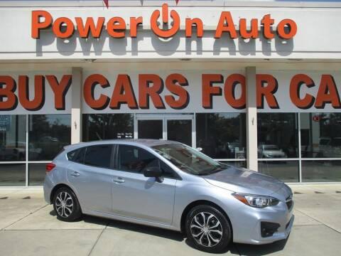 2018 Subaru Impreza for sale at Power On Auto LLC in Monroe NC