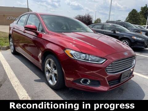 2016 Ford Fusion for sale at Jeff Drennen GM Superstore in Zanesville OH
