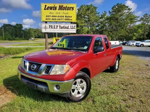 2009 Nissan Frontier for sale at Lewis Motors LLC in Deridder LA