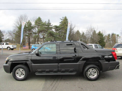 2004 Chevrolet Avalanche for sale at GEG Automotive in Gilbertsville PA