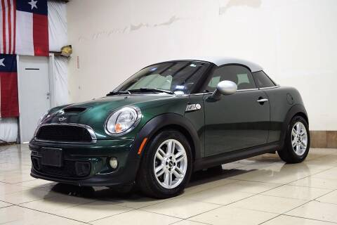 2012 MINI Cooper Coupe for sale at ROADSTERS AUTO in Houston TX