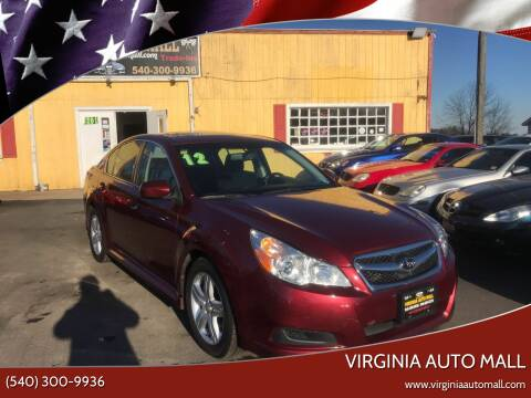 2012 Subaru Legacy for sale at Virginia Auto Mall in Woodford VA