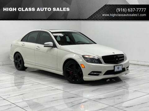 2011 Mercedes-Benz C-Class for sale at HIGH CLASS AUTO SALES in Rancho Cordova CA