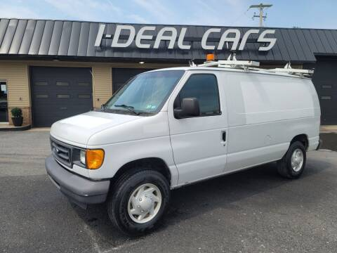 2007 Ford E-Series Cargo for sale at I-Deal Cars in Harrisburg PA