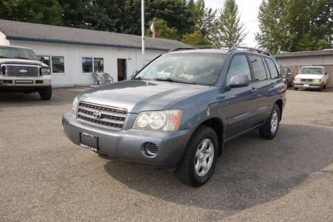 2003 Toyota Highlander for sale at Leavitt Auto Sales and Used Car City in Everett WA