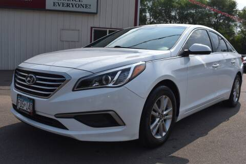 2017 Hyundai Sonata for sale at Dealswithwheels in Inver Grove Heights MN