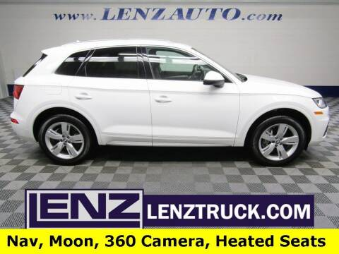 2019 Audi Q5 for sale at LENZ TRUCK CENTER in Fond Du Lac WI