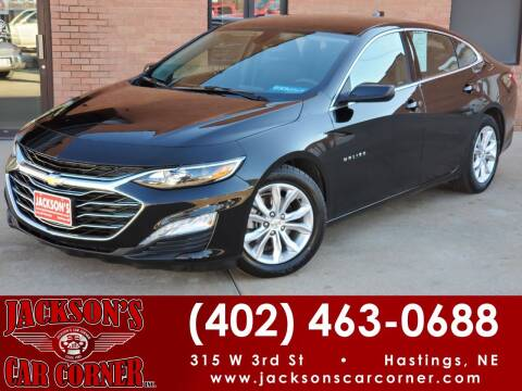 2020 Chevrolet Malibu for sale at Jacksons Car Corner Inc in Hastings NE