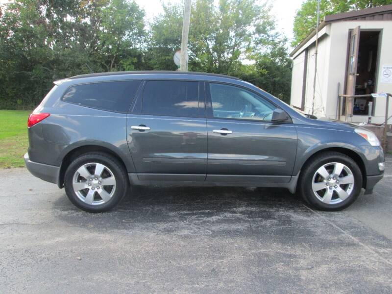 2012 Chevrolet Traverse for sale at Knauff & Sons Motor Sales in New Vienna OH