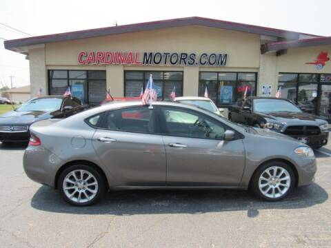 2013 Dodge Dart for sale at Cardinal Motors in Fairfield OH