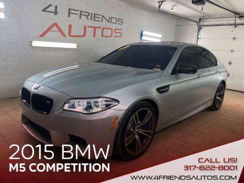 2015 BMW M5 for sale at 4 Friends Auto Sales LLC in Indianapolis IN